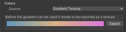 Water color source — gradient